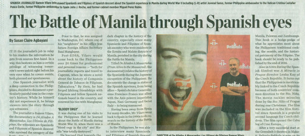 The Battle of Manila through Spanish eyes